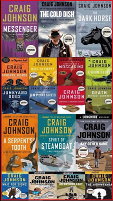 Craig Johnson - Walt Longmire Series [1-13] Audiobook📧⚡Email Delivery(10s)⚡📧