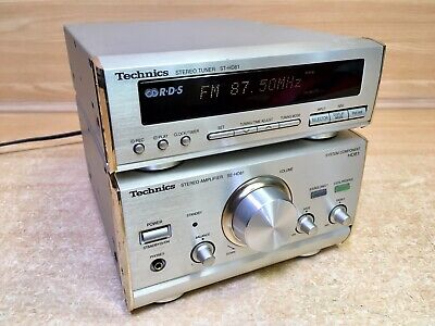 Technics Se-Hd81 /St-Hd81  Stereo Amplifier And Tuner