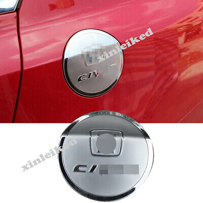 1pcs For Honda Civic 2012-2015 stainless steel Gas Cap Fuel Tank Cover trim