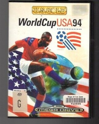 World Cup USA 94. Sega Megadrive.  Cleaned and Tested. PAL
