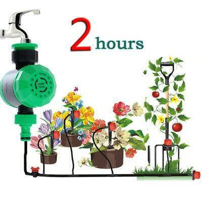 Waterproof Home Automatic Water Timer Garden Irrigation Controller Watering