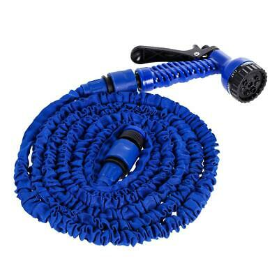 Garden Hose Expandable Flexible Plastic Hose Water Pipe with Sprayer/25FT