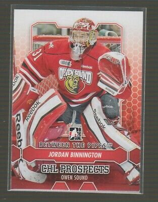 (71108) 2012-13 Itg Between The Pipes Jordan Binnington #45