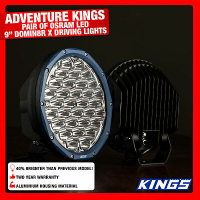 LED Offroad Spotlights Round 9inch Driving Lights Work SUV 4WD Outdoor