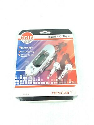 Nextar 1GB MP3 Player With Voice Recording and Ear Buds USB MA933A
