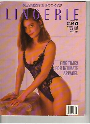 Playboy's Book of LINGERIE Intimate Apparel magazine May/June 1991