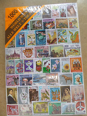 WORLD Collection Packet of 1000 Different Stamps Postmarked Used Condition