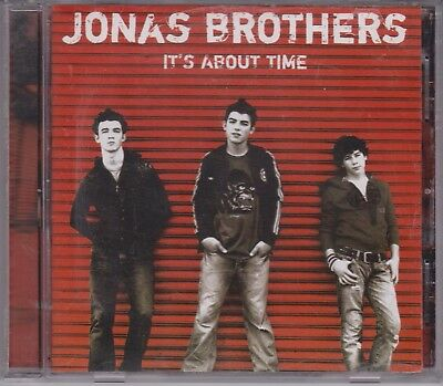 JONAS BROTHERS It's About Time 2006 Day One/Ino CD Nick (Nicholas) Kevin Joseph
