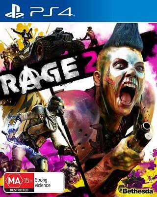 Rage 2 Playstation 4 PS4 Brand New Sealed in Stock