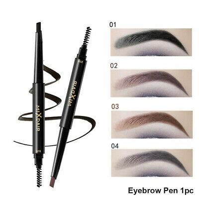 2in1 Waterproof Eyebrow Pen 3D Eyebrow Pencil With Brush Makeup Cosmetic Kit