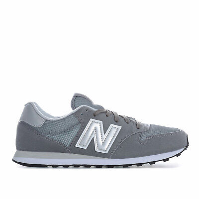 Mens New Balance 500 Trainers In Grey