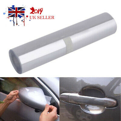 RHINO HIDE Car Paint Protection 15CM x 3M TRIPLE LAYER Vinyl Film Sticker Clear
