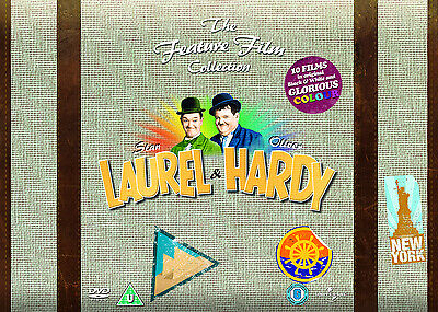 Laurel and Hardy The Feature Film Collection DVD Box Set NEW