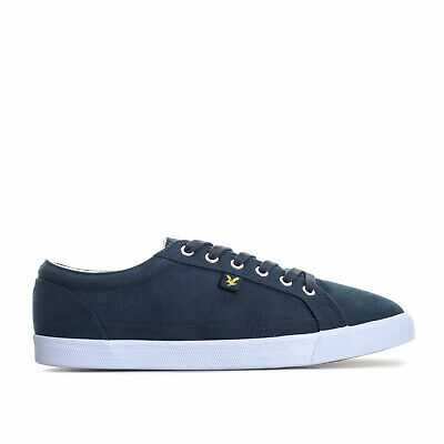 Mens Lyle And Scott Helier Trainers In Navy