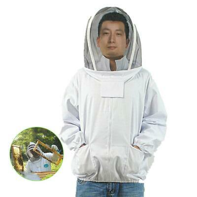 Protective Beekeeper Beekeeping Jacket Veil Suit Cotton fabric Breathable Fine