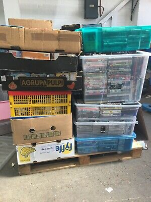 Pallet Of Media DVD's / CD's - Bootfairs Markets 1000's!!!