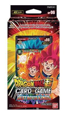 DragonBall Super Card Game: Special Pack Set Destroyer Kings :: Brand New And Se