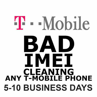 T-Mobile IMEI Clean & Fix Service iPhone 7 | 7+ | 8 | 8+ & Android | Lost/Stolen