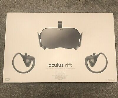 Oculus  Rift and Touch Virtual Reality Headset
