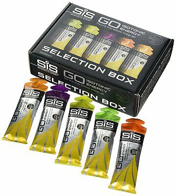Science in Sport Go (SIS-GO) Isotonic Energy Gel Selection Box, 60 ml PACK OF 20