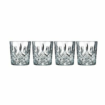 Marquis by Waterford Markham Double Old Fashioned Glasses, Set of 4 - Brand New