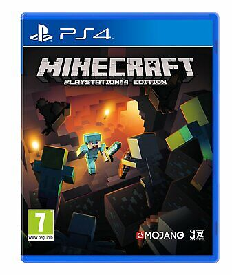 NEW & SEALED! Minecraft Sony Playstation 4 PS4 Game
