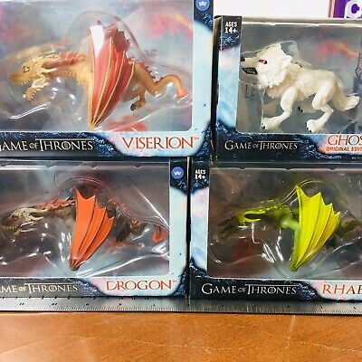 The Loyal Subjects - Game Of Thrones - Viserion, Rhaegal, Drogon, Ghost