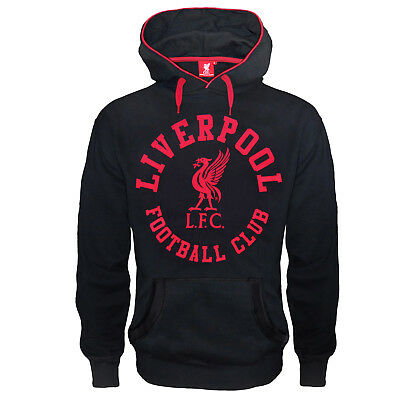 Liverpool FC Official Football Gift Mens Graphic Fleece Hoody
