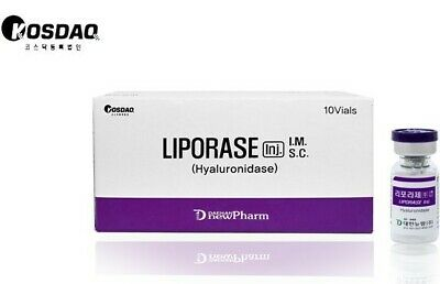 Korean Liporase Hyaluronidase 1 vial (5 mL)