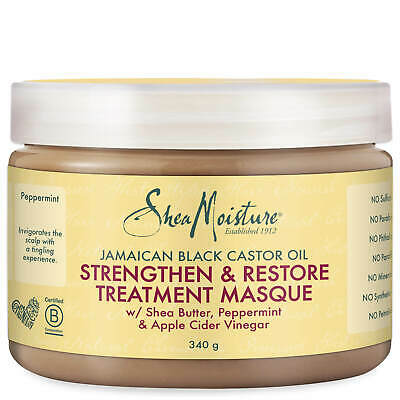 Shea Moisture Jamaican Black Castor Oil Strengthening Treatment Masque