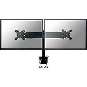 "NEW! Newstar Tilt/Turn/Rotate Dual Desk Mount Clamp for Two 19-30"" Monitor Scree"