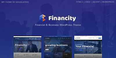 Financity v1.2.2 - Business / Financial / Finance WordPress AND UPDATE FOREVER