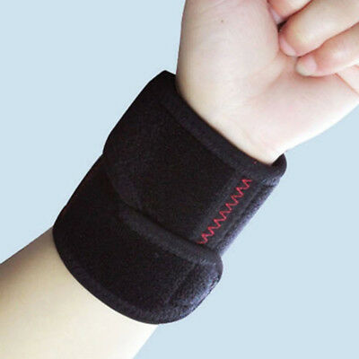 Elastic Sports Wristband Protector Wrist Brace Wrap Support Gym Tennis FM