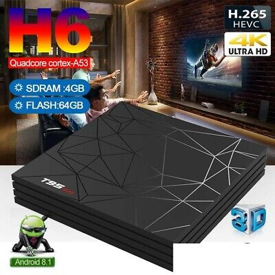 TV Box Android 9.0 Allwinner H6 T95X Max (4GB RAM & 64GB ROM) 6K