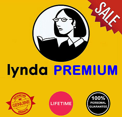 Lynda Premium LIFETIME Subscription Full Access All Courses Support And Warranty