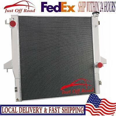 DPI2711 Aluminum Radiator For Dodge Chassis Cab 6.7L Cummins Engine 2007-2009 08