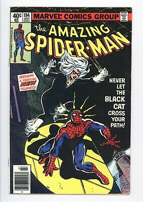 Amazing Spider-Man #194 Vol 1 Beautiful High Grade 1st App of the Black Cat