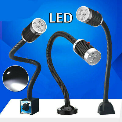 220V CNC Machine LED Lamp Magnetic/Fixed Base Working Lamp Light