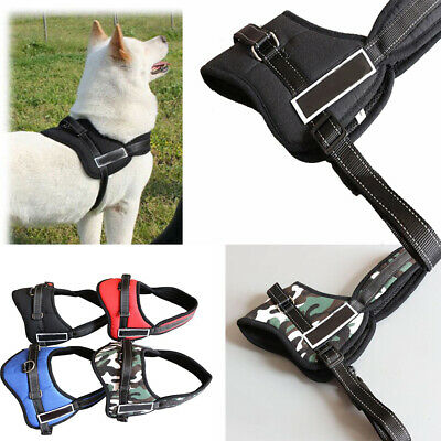 No-pull Dog Harness Outdoor Adventure Pet Vest Padded Handle Small Extra Large V