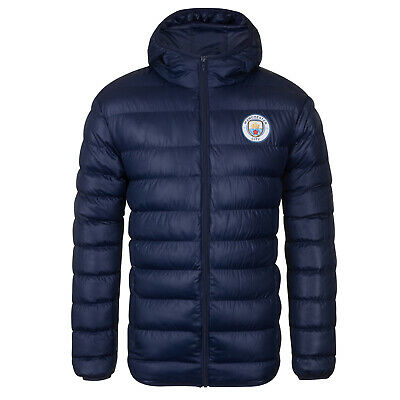 Manchester City FC Official Football Gift Mens Retro Track Top Jacket