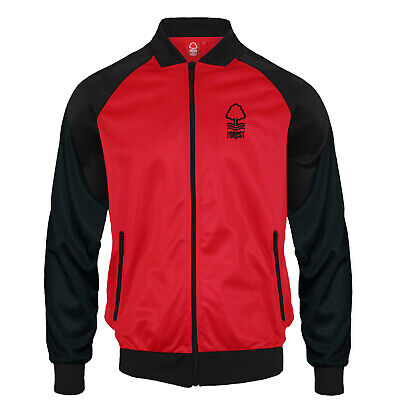 Nottingham Forest FC Official Football Gift Mens Retro Track Top Jacket