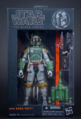 "Star wars the Black Series 6"" Action Figure PVC Boba Fett Toy Gift 2019"