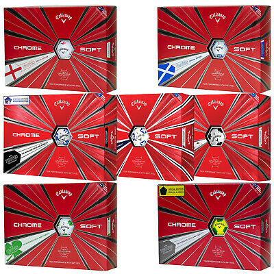 2019 Callaway Chrome Soft Truvis Graphene Golf Balls Limited Edition Select Pack