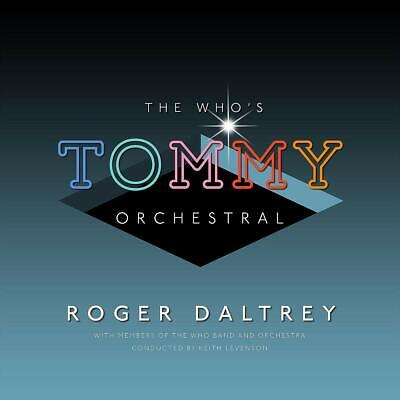 THE WHO's TOMMY ORCHESTRAL (Roger Daltrey) CD (2019)