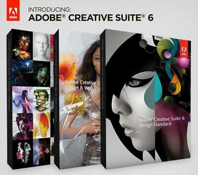 Creative Suite cs6 Master Collection WIN - FULL VERSION- FAST E- DELIVERY