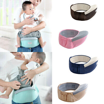 Useful Baby Hip Seat Waist Bench Stool Travel Baby Carrier Kid Sling Holder US
