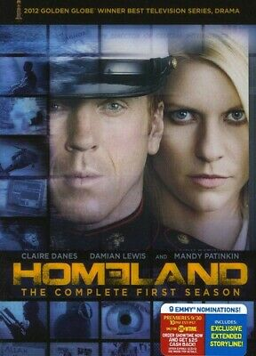 Homeland: The Complete First Season [4 Discs] (REGION 1 DVD Used Good) WS  WS