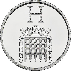 A-Z  ALPHABET (2019) 10p - LETTER (H) - House of Parliament  UNCIRCULATED