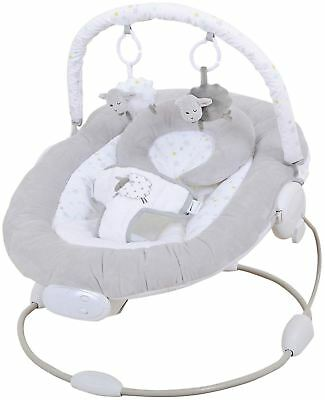 East Coast SILVERCLOUD COUNTING SHEEP BABY BOUNCER Baby Nursery Activity