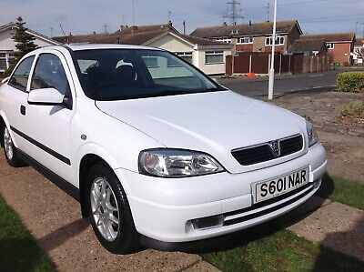 1998 Vauxhall Astra Sport 1.6 petrol  - 9,500 mile from new - Showroom condition